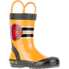 Kamik Fireman Rubber Boots Kids, yellow